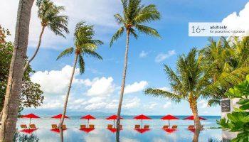 Gay Friendly Hotel The COAST Adults Only Resort and Spa - Koh Phangan (Pet-friendly) Koh Phangan