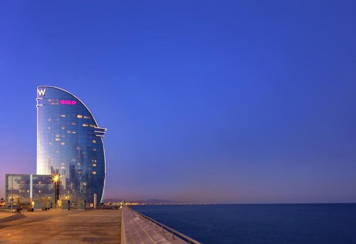 Most Booked Gay Hotels Barcelona W Hotel